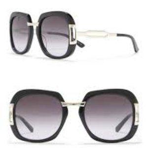 NWT Etro 53mm Rectangle Sunglasses